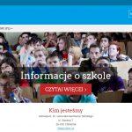 System e-learning gimnazjum im. Generała Tańskiego w Chmielniku